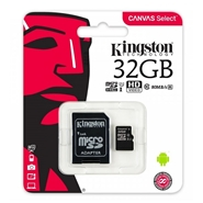 Karta pamięci microSD Kingston 32GB Class 10 + Adapter SD